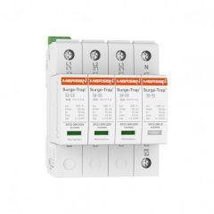 Mersen Surge Protector Type 2+3 SPD 4 Pole 230/400: 277/480 Volt 10KA TT