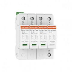 Mersen Surge Protector Type 2+3 SPD 4 Pole 120/208 Volt 10KA TNS Remote Indication