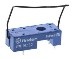 Finder 9513.2SMA 95 Series relay base for 40, 41 and 43 series Finder Relays