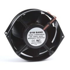 A15055.230 ETE 230V AC cooling fan - 55 D x 150 W x 150 H mm - 5.66~6.79 cu m/min free blowing