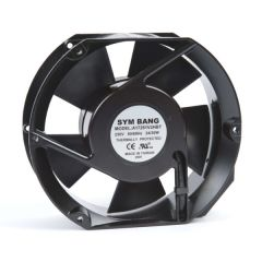 A17251.230 ETE 230V AC cooling fan - 51 D x 172 W x 172 H mm - 5.40~6.70 cu m/min free blowing