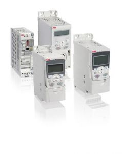 abb acs150 inverter variable speed drive three phase 4kw 8.8amp up to 500hz out inc filter