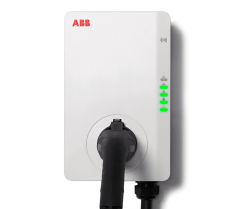 ABB6AGC081279 ABB Wall Mounted Car Charger Three Phase 32 Amp