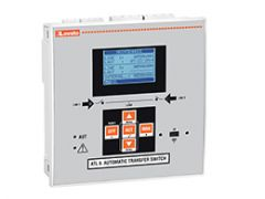Lovato transfer switch controller with lcd display optical port 110-240vac
