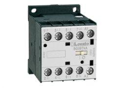 11BG09T4D024 Lovato contactor 4 pole AC3:9A 4kw 24vdc coil