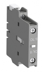 ABB cal18-11b side mounted instantaneous aux contact block
