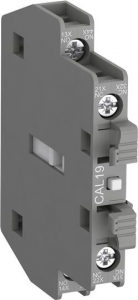 ABB cal19-11b side mounted instantaneous aux contact block