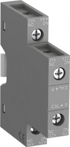 ABB cal4-11 side mounted instantaneous aux contact block