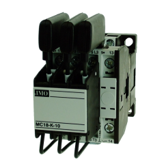 imo mc18n-k-10230ac capacitor switching contactor 12.5kvar, 1no aux 230vac