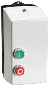 DOLS7.5400 Lovato standard dol starter 7.5kw 18a plastic enclosed 400vac