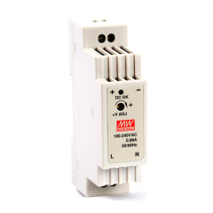 Mean well DR-15-12 15 Watt Power Supply 12V 1.25A output