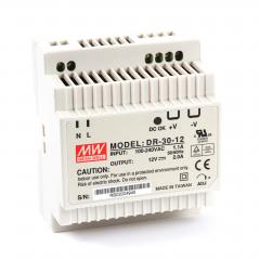 Mean well DR-30-12 30 Watt Power Supply 12V 2.00A output
