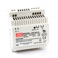 Mean well DR-60-05 60 Watt Power Supply 5V 6.50A output