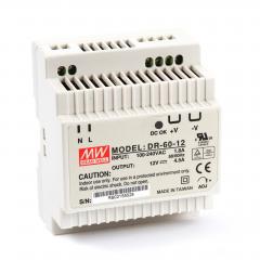 Mean well DR-60-12 60 Watt Power Supply 12V 4.50A output