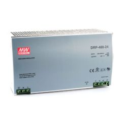 DRP-480-24 Power Supply 180-264VAC 1 Phase input, output 24 volts DC 20.0 Amps