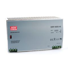DRP-480S-48 Power Supply 90-132/180-264VAC 1 Phase input, output 48 volts DC 10.0 Amps