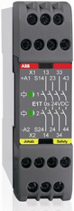 ABB e1t 3s 24dc  abb expansion relay