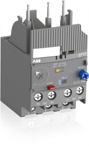 ABB ef19-18.9 electronic overload relay 5.7a - 18.9a