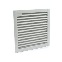 FK 7725.300 ETE Louvered grill with filter for FK 7724 and FK 7725 series fans