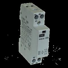 imo hc20-02230 modular heating contactor 20a 2 pole nc, 230vac coil