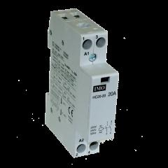 imo hc20-0224 modular heating contactor 20a 2 pole nc, 24vac coil