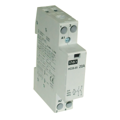 imo hc20-2024 modular heating contactor 20a 2 pole no, 24vac coil