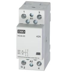 imo hc40-20230 modular heating contactor 40a  2 pole no, 230vac coil