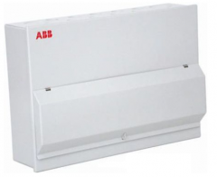ABB hsms11c 11 way steel enclosed consumer unit