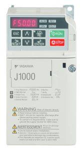 CIMR-JCBA0006BAA Yaskawa Variable Speed Drive J1000 200V VT:6A/1.1KW, CT 5A/0.75KW IP20