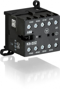 ABB k6-22z-84 110ac mini contactor relay