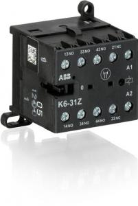 ABB k6-31z-85 400ac mini contactor relay