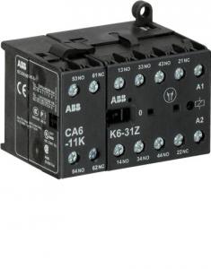 ABB k6-31z-p-85 400ac mini contactor relay