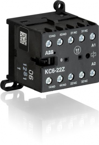 ABB kc6-22z-16 48vdc mini contactor relay