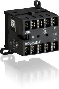 ABB kc6-22z-f-04 110vdc mini contactor relay