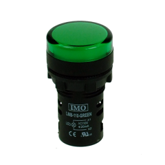 lmb-110-green imo led pilot light 110vac green ip65