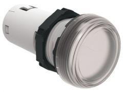 lovato lpmle7 white led pilot light 110vac 22mm