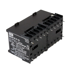 imo mb09-r-s-004024 mini contactor reversing pair 4 pole n/o 4kw 9a ac3, 24vac