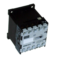 imo mb09-s-0031110 mini contactor 4kw 4 pole, 3no plus 1nc 9a ac3, 230vac