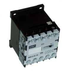 imo mb12-s-0040=24 mini contactor 4 pole n/o 5.5kw 12a ac3, 24vdc