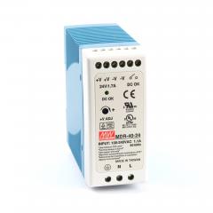 Mean well MDR-40-24 40 Watt Power Supply 24V 1.7A output
