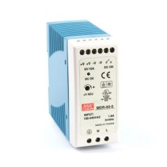 MDR-60-5 Power Supply 85-264VAC 1 Phase input, output 5 volts DC 10.0 Amps