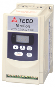 E2-403-H3FN4S Teco 2.2KW/5.2Amps IP65 Inverter Commercial Filter 3Phase Input 3Phase Output