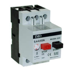 imo mu25a0.25 manual motor starter 0.16 - 0.25 amps