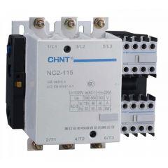 nc2-630-415v chint contactor 110vac coil 630a/335kw ac3 4p 4 main poles (4no)