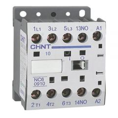 nc6-0910-48v chint contactor 48v 9a 3no main poles and 1no aux