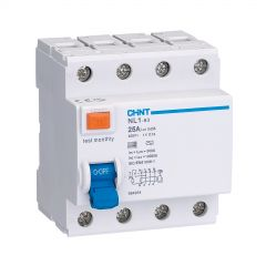 chint nl1-100-480/100-s 80a 100ma 4 pole time delay rcd