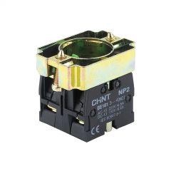 np2-bz103 chint 2 n/o contact block + base