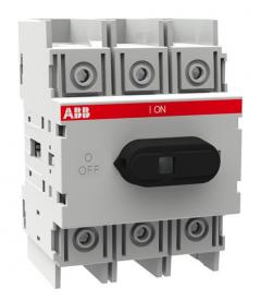 ABB ot125m4 125 amp 4 pole switch disconnector