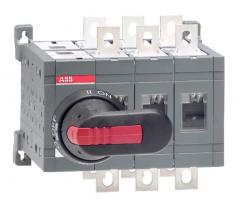 ABB ot160e03cp 160 amp 3 pole change-over switch