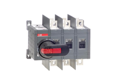 ABB ot160e03wcp 160 amp 3 pole change-over switch